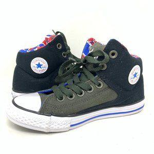 Converse All Star High Street Sneaker Black Green
